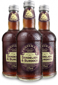 Лимонад Фентиманс «Лопух и Одуванчик» (Fentimans Dandelion & Burdock) 0,275 литра
